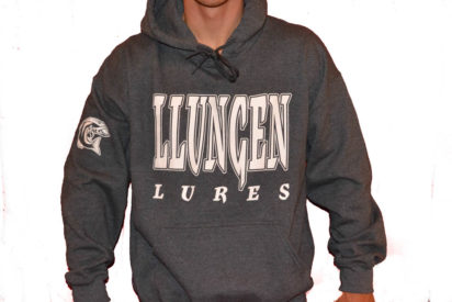 Llungen Lures Gray Fleece hoody