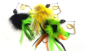 Marabou Nutbuster Spinnerbaits